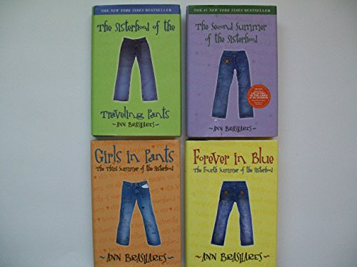 Sisterhood of the Traveling Pants (4 Set) Second Summer; Girls in Pants; Forever in Blue