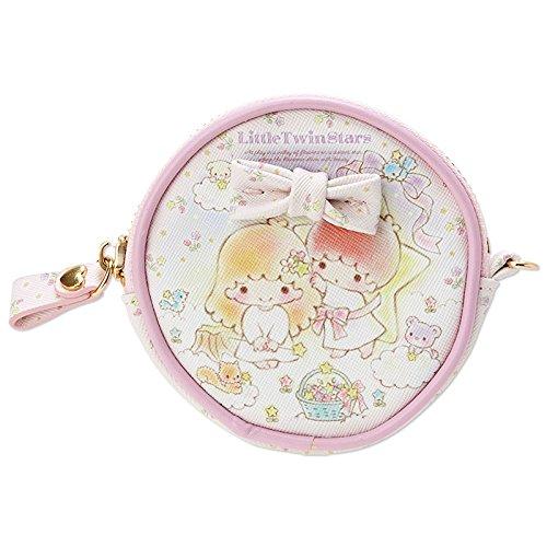 Sanrio Little Twin Stars Round Petit case star flower From Japan (Flower Gallery Music Box)