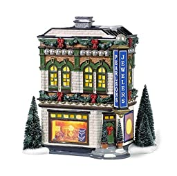 Department 56 Snow Village Pearlson\'s Jewelry