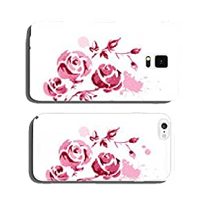 watercolor flowers cell phone cover case iPhone6