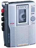 (US) Sony TCM-210DV Standard Cassette Voice Recorder (Discontinued by Manufacturer)