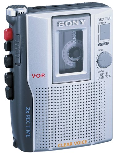 Sony TCM-210DV Standard Cassette Voice Recorder (Discontinued by Manufacturer) by Sony