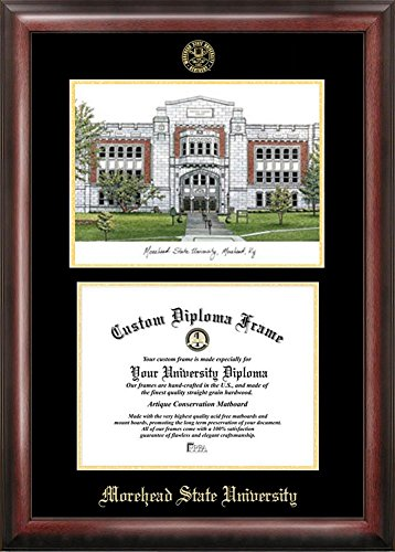 Morehead State University Diploma Frame with Limited Edition Lithograph
