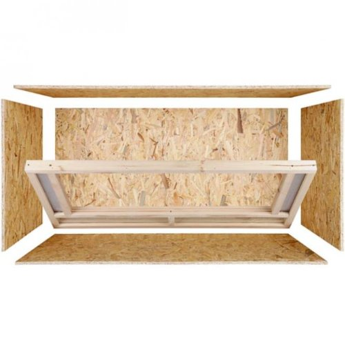 repiterra terrarium aus osb platten mit floatglas in. Black Bedroom Furniture Sets. Home Design Ideas
