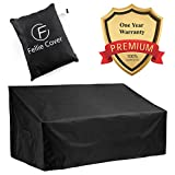 64-inch Outdoor Bench Cover Water Resistant Patio