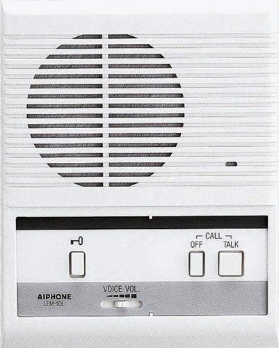 Intercom Master System (Aiphone LEM-1DL Single-Door Access Sentry System Master Intercom by Aiphone)