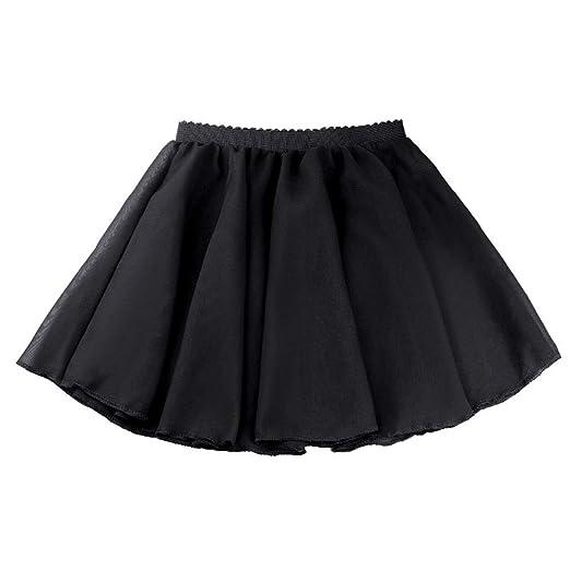 WCZZ La danza de la falda, falda de ejercicios de ballet, elástico ...