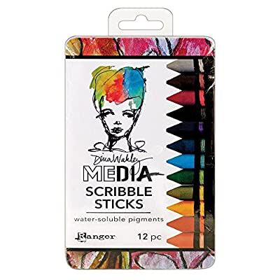 Dina Wakley Media Ranger Scribble Sticks - 2018 Release