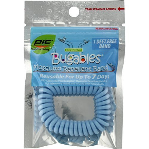 PIC Bugables Mosquito Repellent Band - 50PK