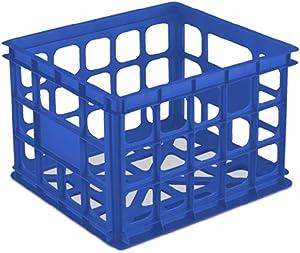 Sterilite 16921c06 Storage Crate, Blue