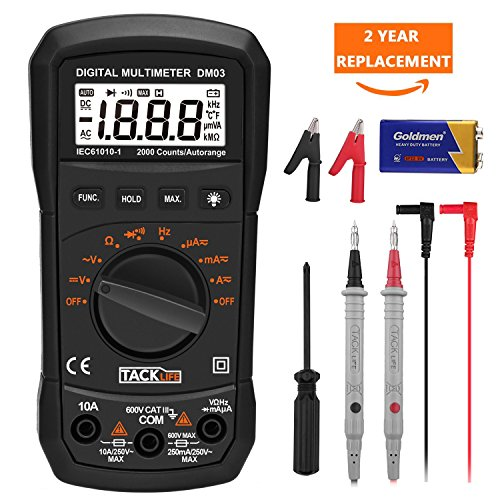 Генераторы & генераторы Multimeter Tacklife DM03S