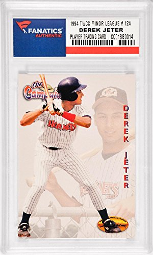 Derek Jeter New York Yankees 1994 Ted Williams Card Company Minor League #123 Card - Fanatics Authentic Certified...