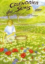Calendrier des semis 2007