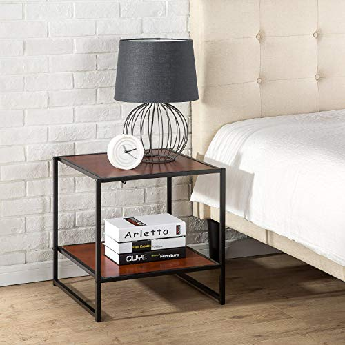 - Zinus Modern Studio Collection 20 Inch Square Side/ End Table/ Coffee Table (Renewed)