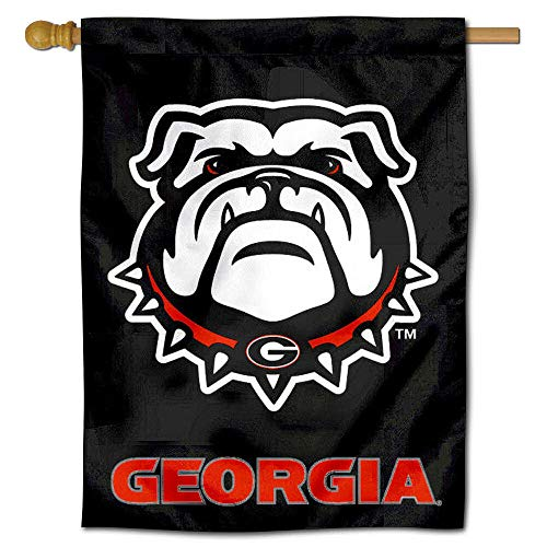 (University of Georgia Bulldogs New Dawg House Flag Banner)
