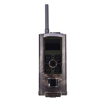 hc-700g cámara de caza 3 G cámara impermeable 1080P HD gran angular de vigilancia por infrarrojos visión nocturna para monitoreo de Animal salvaje: ...