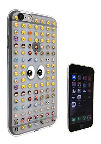 c0113 - Cool Smiley Faces emoji Funky Design Pour iphone 4 4S Protecteur Coque Gel Rubber Silicone protection Case Coque