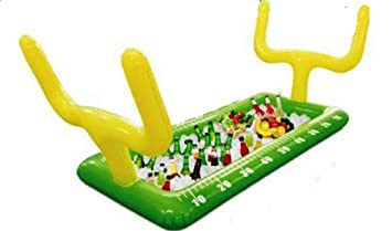 Football Field Goal Post Inflatable Buffet Snack Bar Cooler   Tailgate U0026  Home Party Supplies