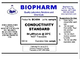 Conductivity Calibration Standard 3-Pack 500 ml