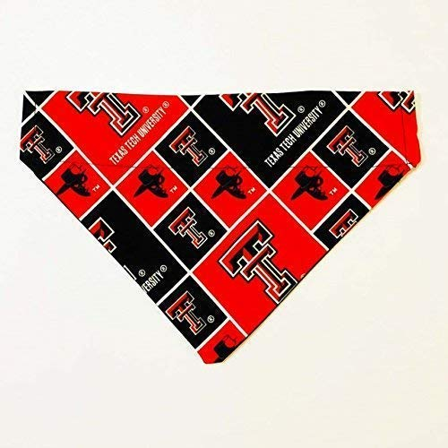 Texas Tech University Red Raiders PrintDog Bandana No-Tie