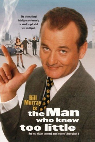 Man Who Knew Too Little, The Blu-ray