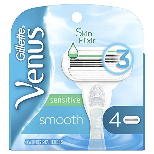 Gillette Venus Smooth Sensitive Women's Blade - 4 Refills ()