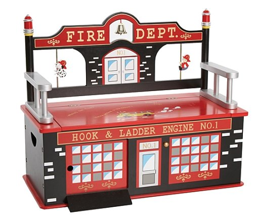 Banco de caja de juguete de bombero Wildkin
