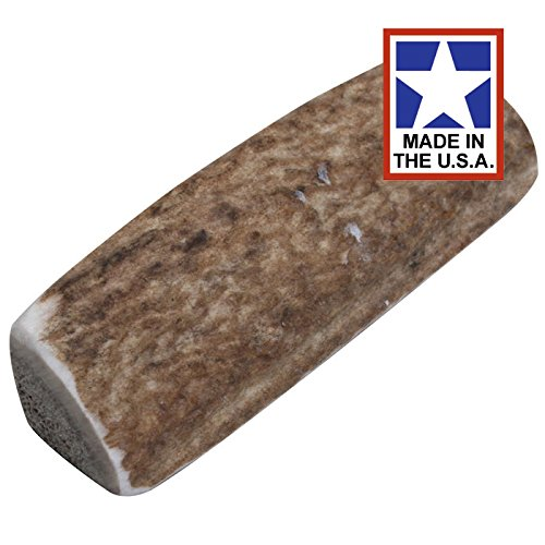 Happy Dog of Cape Cod Sliced Elk Antler - X-Small