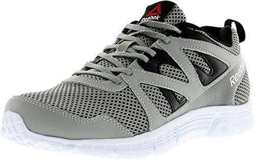 Reebok Men's Run Supreme 2.0 4E running Shoe, Flat Grey/Black/White, 7 4E US For Sale