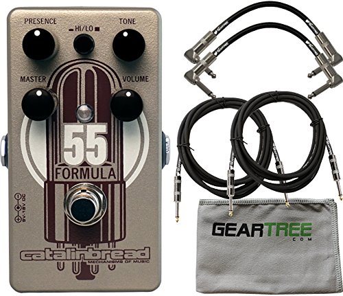 Catalinbread Formula No. 55 Foundation Overdrive Pedal w/ Cl