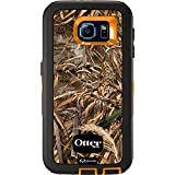 OtterBox DEFENDER SERIES for Samsung Galaxy S6 - Retail Packaging - Max 5 Blaze (Blaze Orange/Black/Max 5 Design)