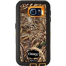 OtterBox DEFENDER SERIES for Samsung Galaxy S6 - Retail Packaging - Max 5 Blaze (Blaze Orange/Black/Max 5 Design)