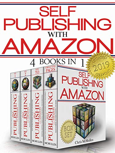 Self Publishing With Amazon Boxed Set 4 Books In 1