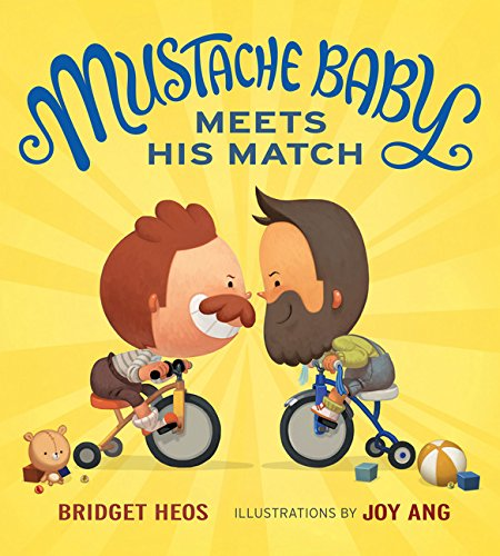Mustache Baby Meets His Match (Baby With Mustache)