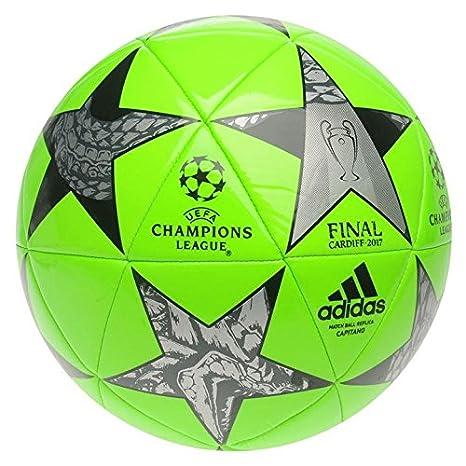 Adidas UEFA Champions League Final Fútbol 2017 Solar Verde: Amazon ...