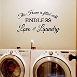 Laundry Room Artwork Laundry Room Wall Decal