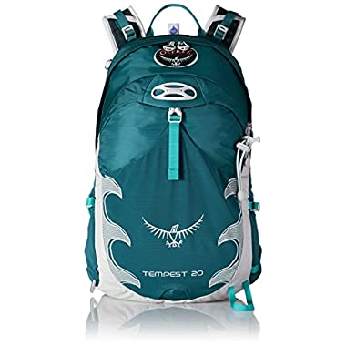 Osprey Packs Women's Tempest 20 Backpack, Tourmaline Green, Small/Medium