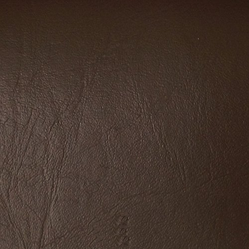 Burlapfabric.com Brown Faux Leather Fabric Upholstery Vinyl 54 Inches Wide Sold by the Yard]()