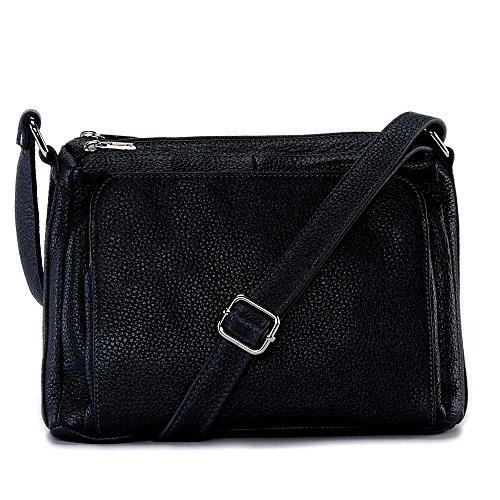 Manatan femme main cuir MY Sac BAG en à Modèle Noir OH bandoulière 8ZqxIvxw