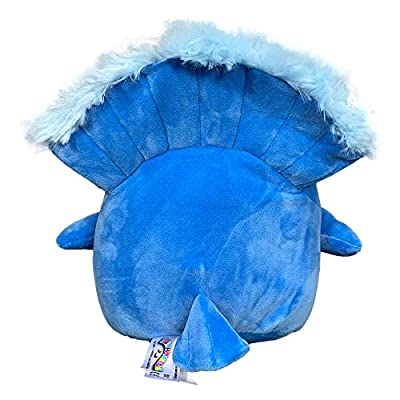 Squishmallow 8 Inch Priscilla The Peacock Plush Toy, Super Pillow Soft Plush Stuffed Animal, Blue: Kitchen & Dining
