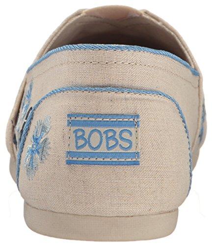Skechers Bobs Fra Kvinnenes Luxe Mote Slip-on Flat Naturlig Kirsebær Blomstre