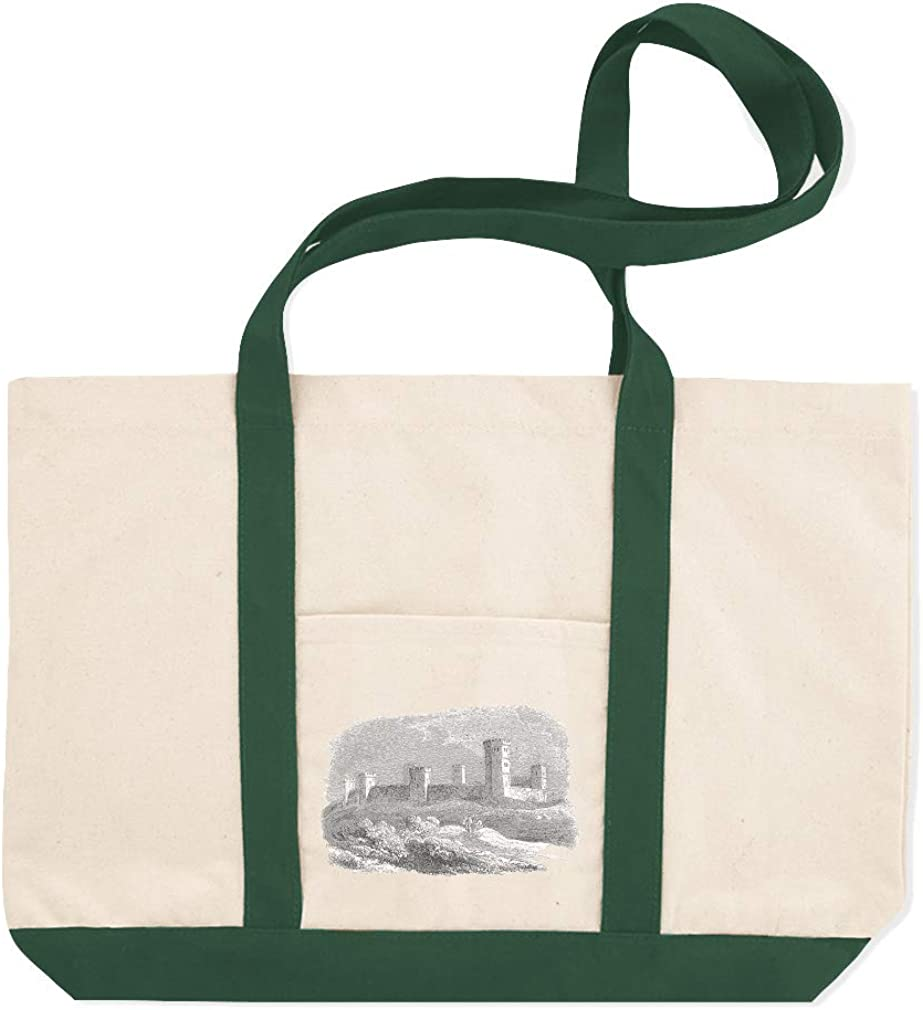 Canvas Shopping Tote Bag Oxford Castles Architecture Acropolis Beach Bags for Women Castles Gifts