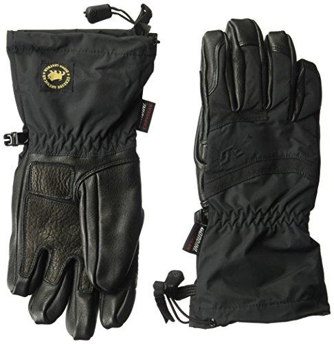 Gordini Women's Elias Gauntlet Gloves, Black, Large by Gordini