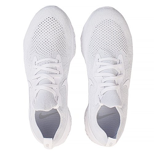 True 102 White Multicolour White Running Epic Platinum NIKE Flyknit Pure 's Competition React Shoes Men R6A1xqz