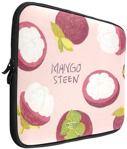 Unique Summer Style Mangosteen Watercolor Pattern 13 Inch MacBook Pro Sleeve 13 Inch Laptop Sleeve Uitrabook Sleeve Case MacBook Protective Bag 13