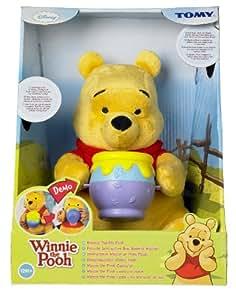 """Disney Winnie the pooh - Peluche interactiva """"Buen provecho Winnie"""" 26 cm"""