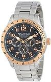 Nautica Men's N16100G BFD 101 Multi Casual Classic Watch