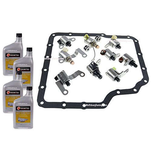 Wolfsburg Tuning 1.8T VR6 TDI Transmission Solenoid Set fits VW MK4 GTI Jetta Tiptronic 5 speed Automatic 02-05