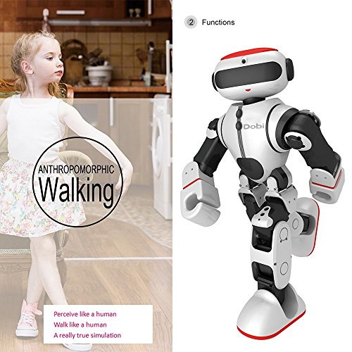 Intelligent Humanoid Robot Dobi Kids Toy Robot Voice/APP Control Toy with Dance/ Yoga/ Storytelling Kid's Suprise Gifts Accompany Friend by OUKU (Image #7)