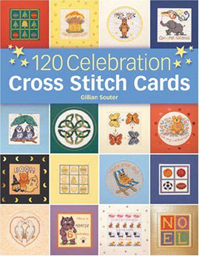 120 Celebration Cross Stitch Cards